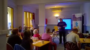 Kidney Research UK talk